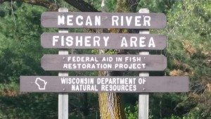 Mecan River, Central Wisconsin Trout Stream