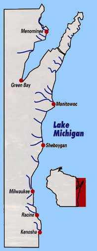 Wisconsin Michigan tributaries