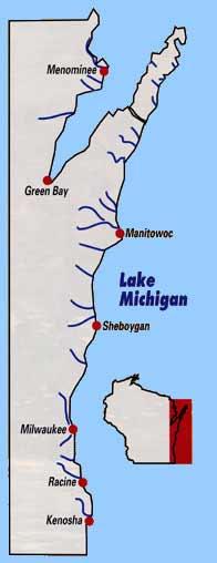 Wisconsin Michigan tributaries