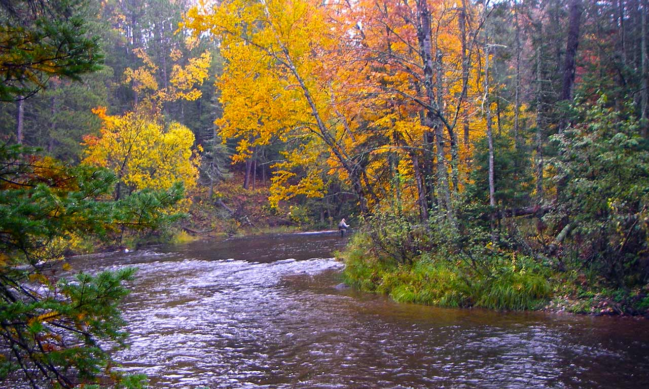 Brule River Wisconsin