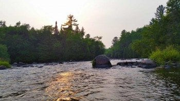 Wolf River fly fishing