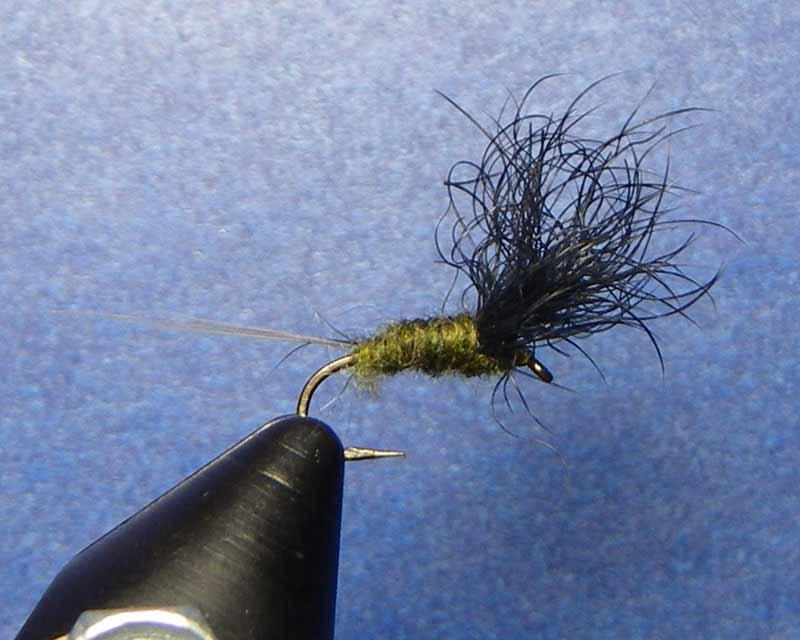 BWO Comparadun fly pattern