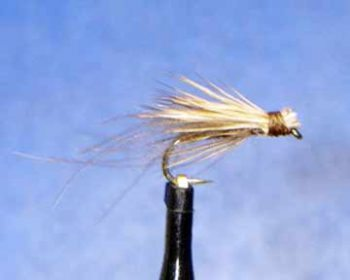 CDC March Brown Emerger 6 pcs size 12