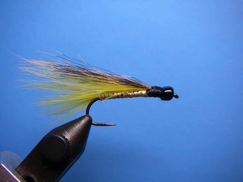 Yellow Fox Streamer fly pattern