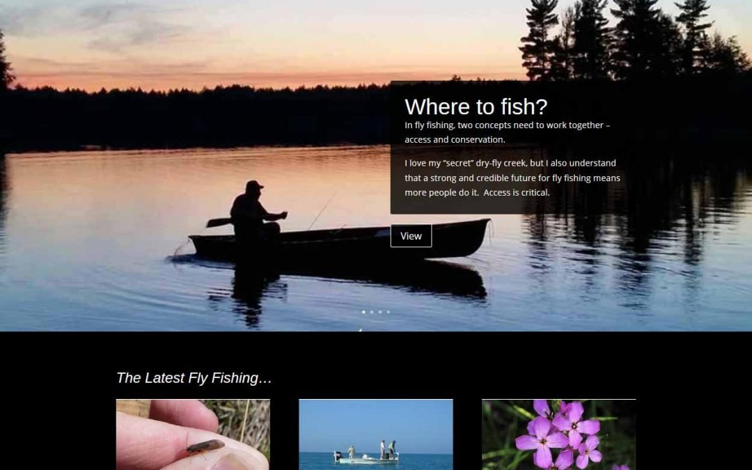 Updated website flyfishingwis.com.
