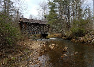 Coveredbridge on Dukes Creek Georgia