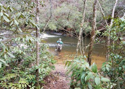 Nice hole on dukes Creek Georgia