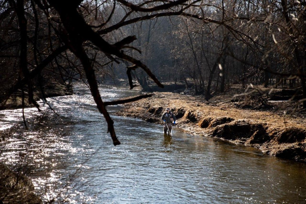 Steelhead fly fishing on Wisconsin tributaries